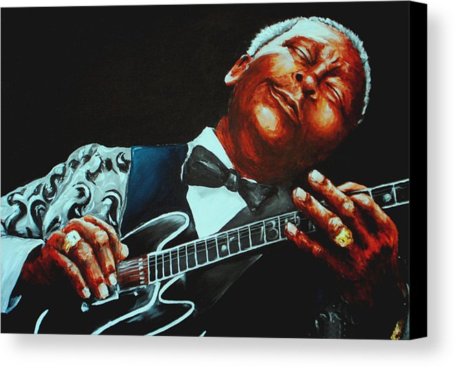 guitar art with BB King
